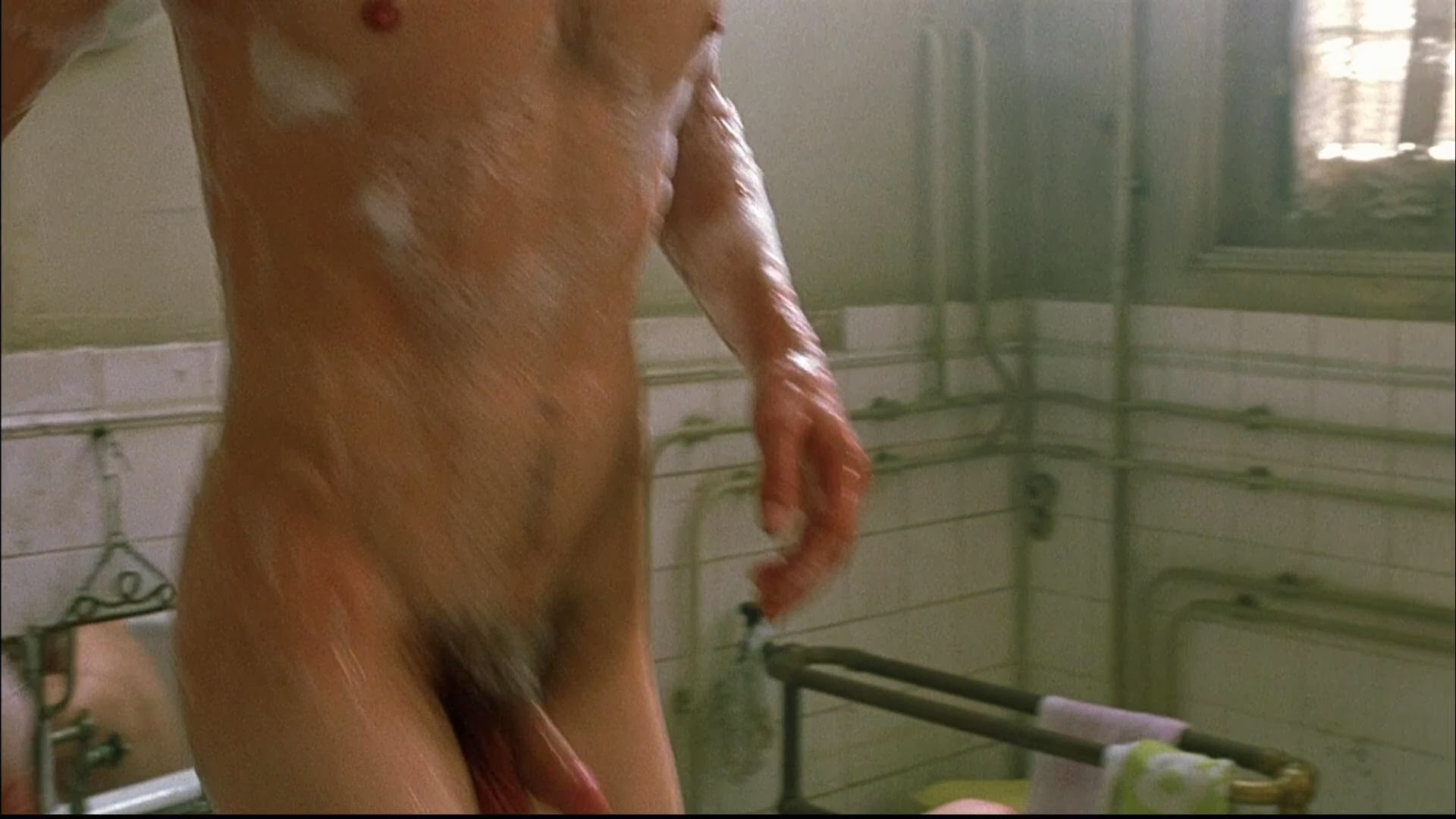Tits hairy pussy shower group