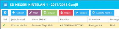 CARA PENGISIAN EKSTRAKURIKULER Dapodik versi 2018