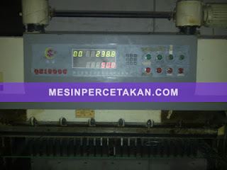 Mesin Potong Kertas Digital Program QZX 1300