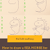How to draw a ' SEA-HORSE' for kids (Step by Step):