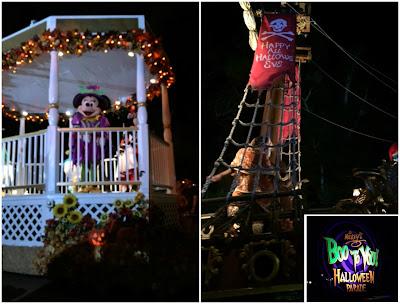 Disneyworld Boo Halloween parade