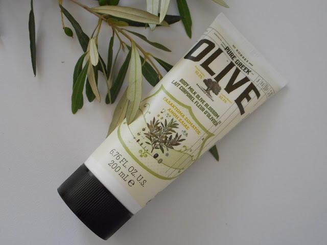 Korres Pure Greek Olive Body Milk, Olive Blossom