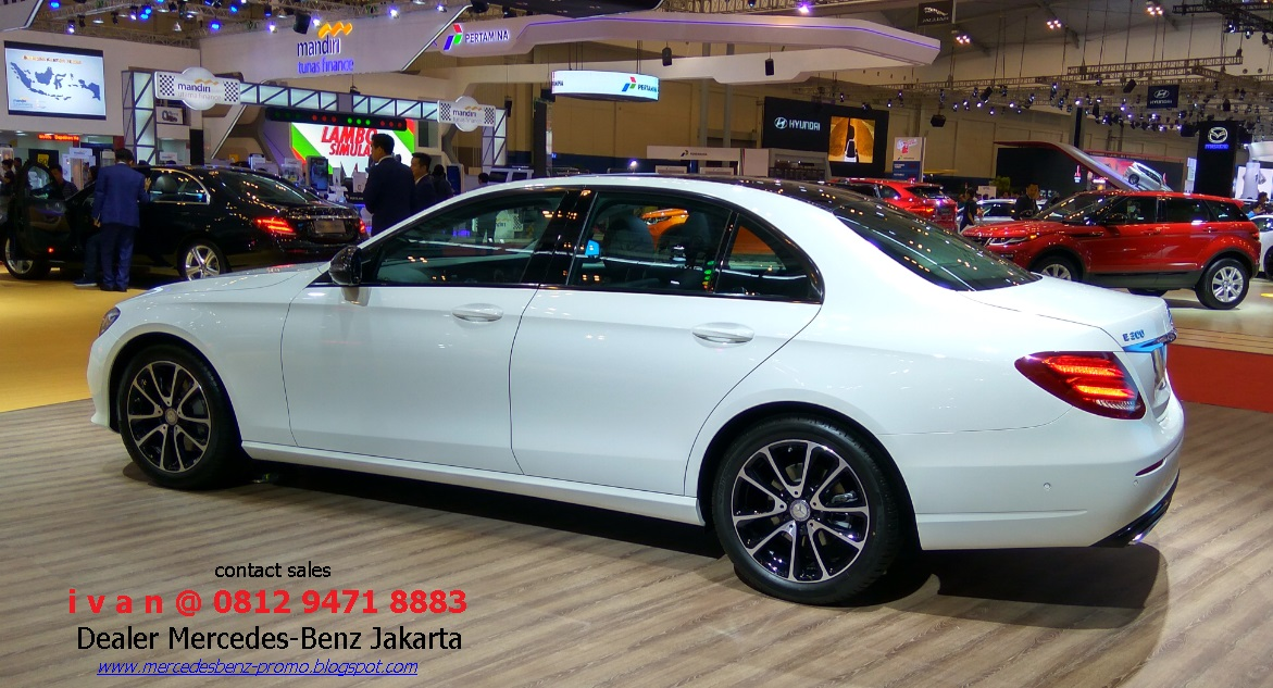 Mercedes benz e class w213 all new model 2016 indonesia for Mercedes benz service b coupons 2017