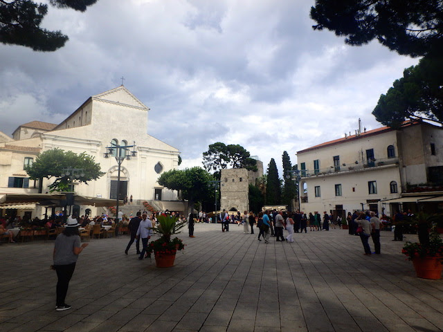 Mains square and the Cathedral in Ravello