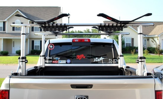 Palmetto Kayak Fishing Thule Xsporter Truck Rack Review