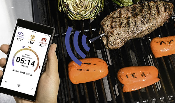 圖說:Meater使用情境。圖片來源:Meater Kickstarter網站