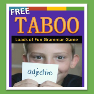 Taboo Grammar Game