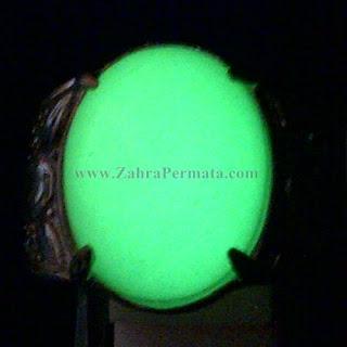 Cincin Batu Posfor Hijau - ZP 1020