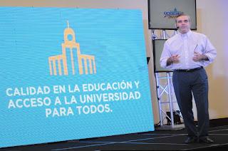 Abinader exhorta a las nuevas generaciones a empoderarse de su propuesta Gobierno Joven