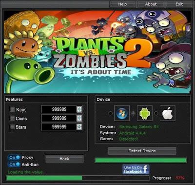 plant vs zombie 2 hack mod apk