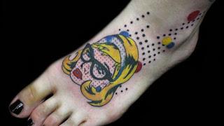 foto 1 de tattoos inspirados en obras de arte