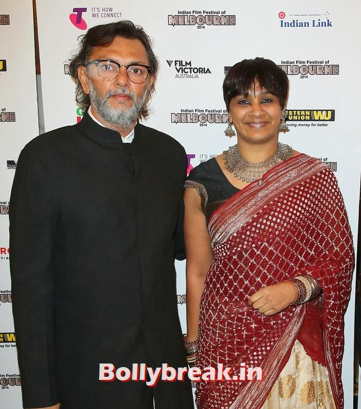 Rakeysh Omprakash Mehra and PS Bharathi, Kangana Ranaut & Amitabh Bachchan at the Indian Film Festival of Melbourne Awards
