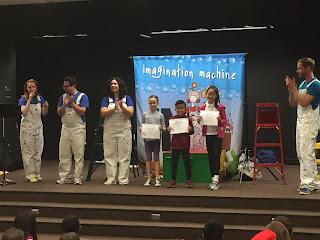 Imagination Machine student authors