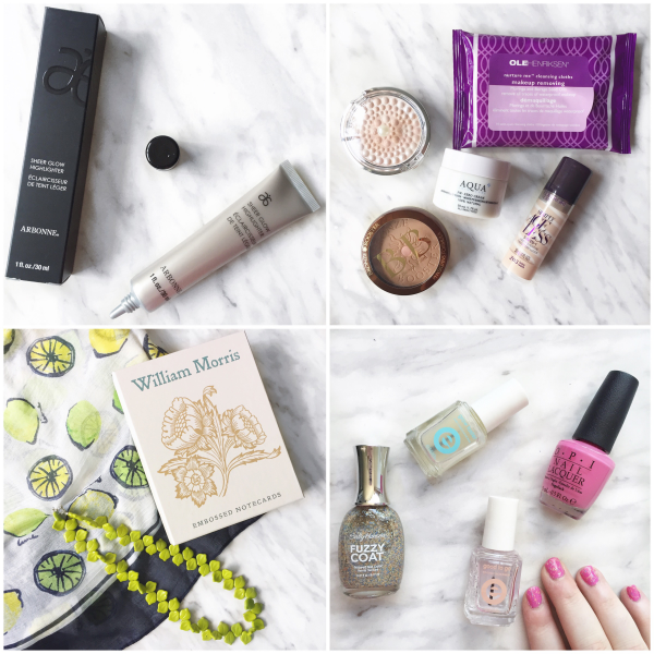 bbloggers, bbloggersca, canadian beauty bloggers, instagram, instamonth, arbonne sheer glow, birthday gifts, birthday nails, confetti nails