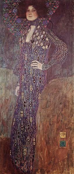 Emile Floge by Klimt