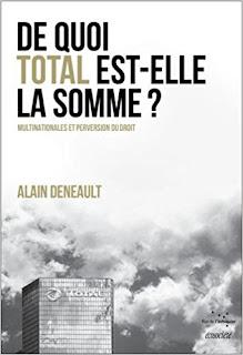 De Quoi Total Est-Elle La Somme de Alain Deneault PDF