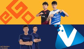2vs2 Random - Hồng Anh, Yugi vs. BiBi, NamSociu - 07/10/2020