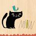 Ilustrações mostram a vida secreta dos gatos