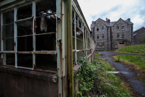 North Wales Hospital. Denbigh, Wales.