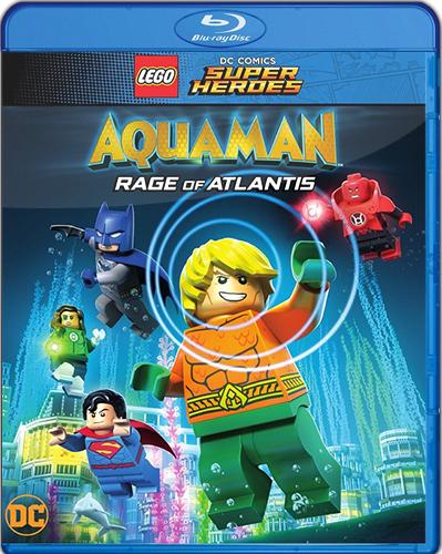 LEGO DC Comics Super Heroes: Aquaman – Rage of Atlantis [2018] [BD25] [Latino]