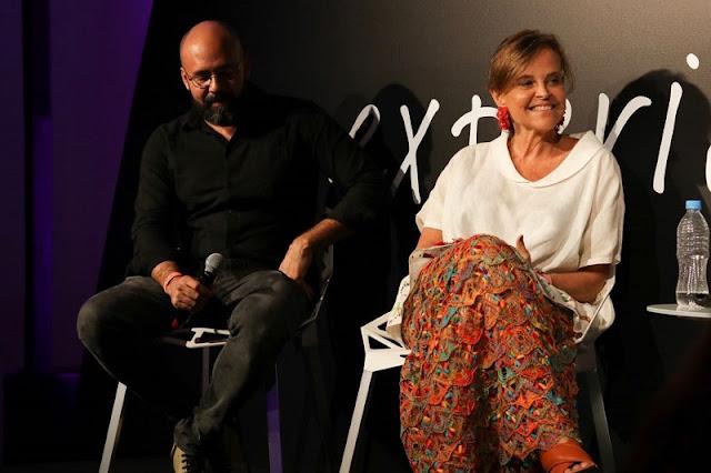 Sérgio Martos e Sônia Quintella na Casa Vogue Experience 2017 - São Paulo, SP.