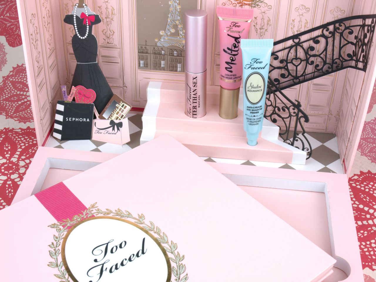 Too Faced Holiday 2015 Le Grand Palais Collection: Review and Swatches