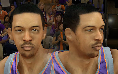 NBA 2K13 Channing Frye Cyberface Patch