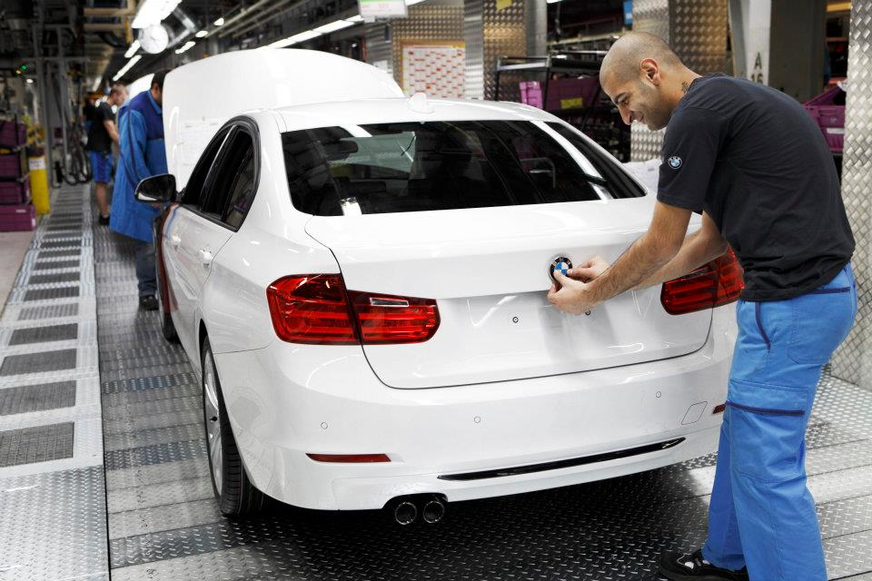 2012 Bmw 3 Series Production Start At Its Home Plant Munich India