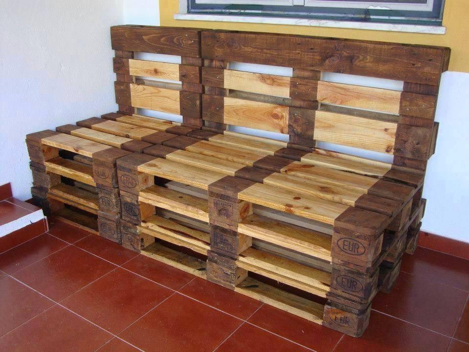 Palets de madera construccion y manualidades hazlo tu - Madera de palet ...