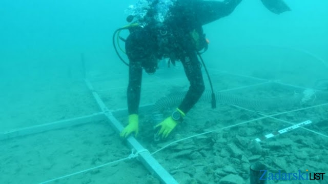 Archaeologists make sweet discovery at underwater site in Croatia