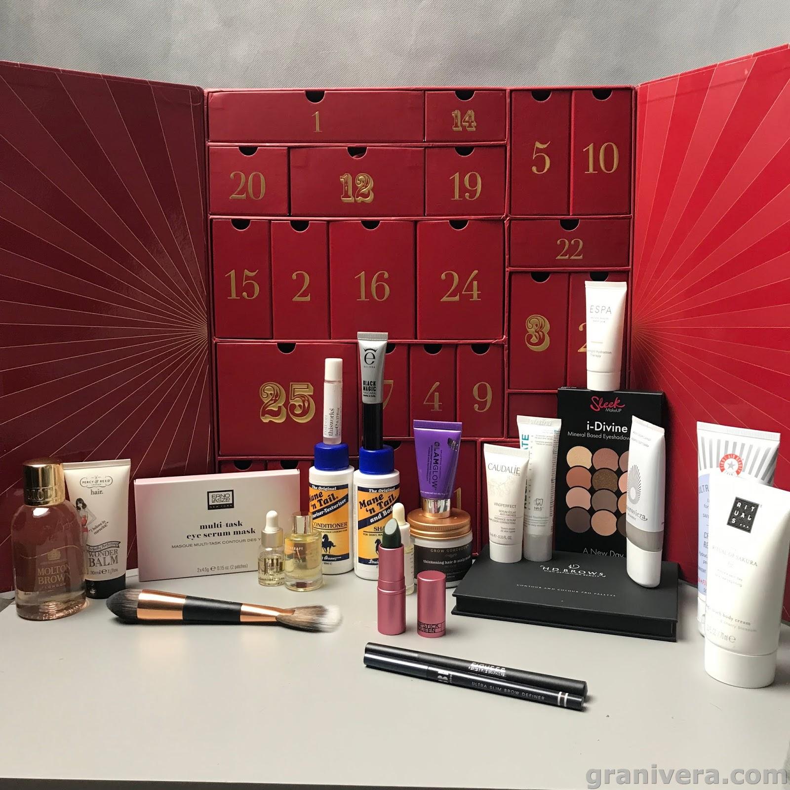 Nowości kosmeczne grudnia- lookfantastic,W7, Revers, Nacomi, dairy fun, Anastasia Beverly Hills, Fenty beauty, I love Cosmetics