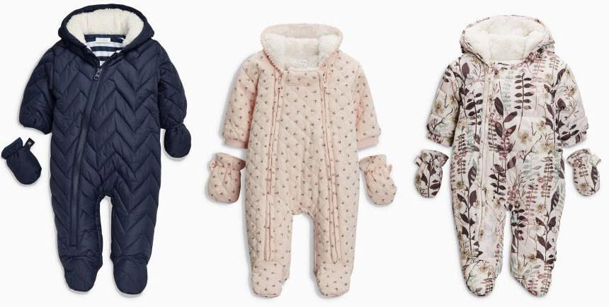 jakie ubranka dla niemowlecia