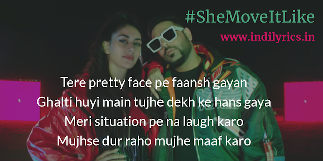 She Move It Like | Badshah ft. Warina Hussain | ONE | Full Audio Song Lyrics with English Translation and Real Meaning Explanation