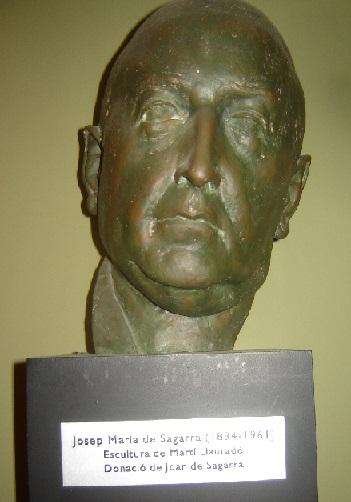 Busto de Josep Maria de Sagarra i Castellarnau