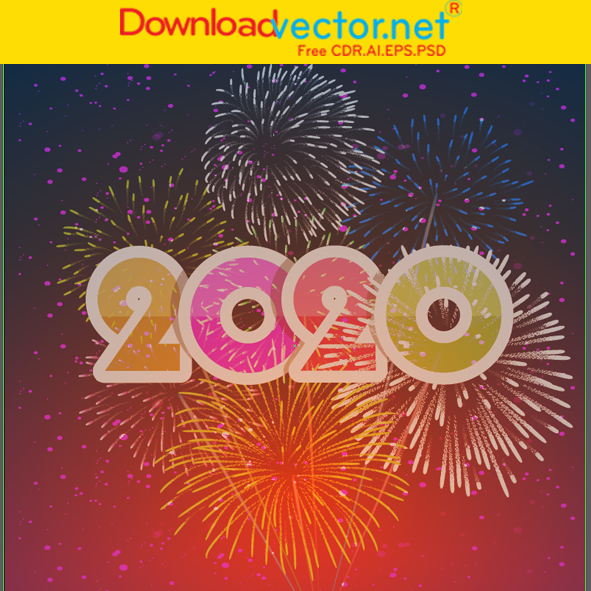 Vector tết 2020 free
