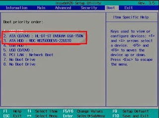 Cara Mengatasi Reboot and Select Proper Boot Device