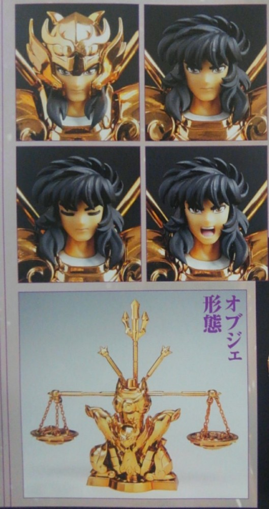 Myth Cloth EX Libra Dohko Original Color Edition (O.C.E.) y Andromeda Shun Revival - Tamashii Nations