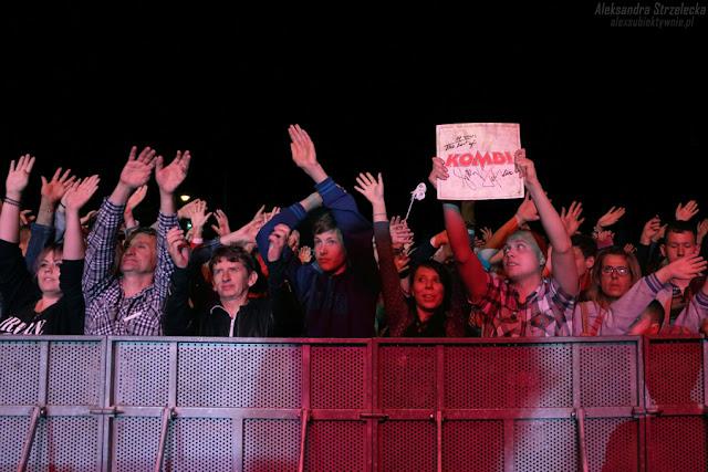 Koncert zespołu Kombii - fani, publiczność