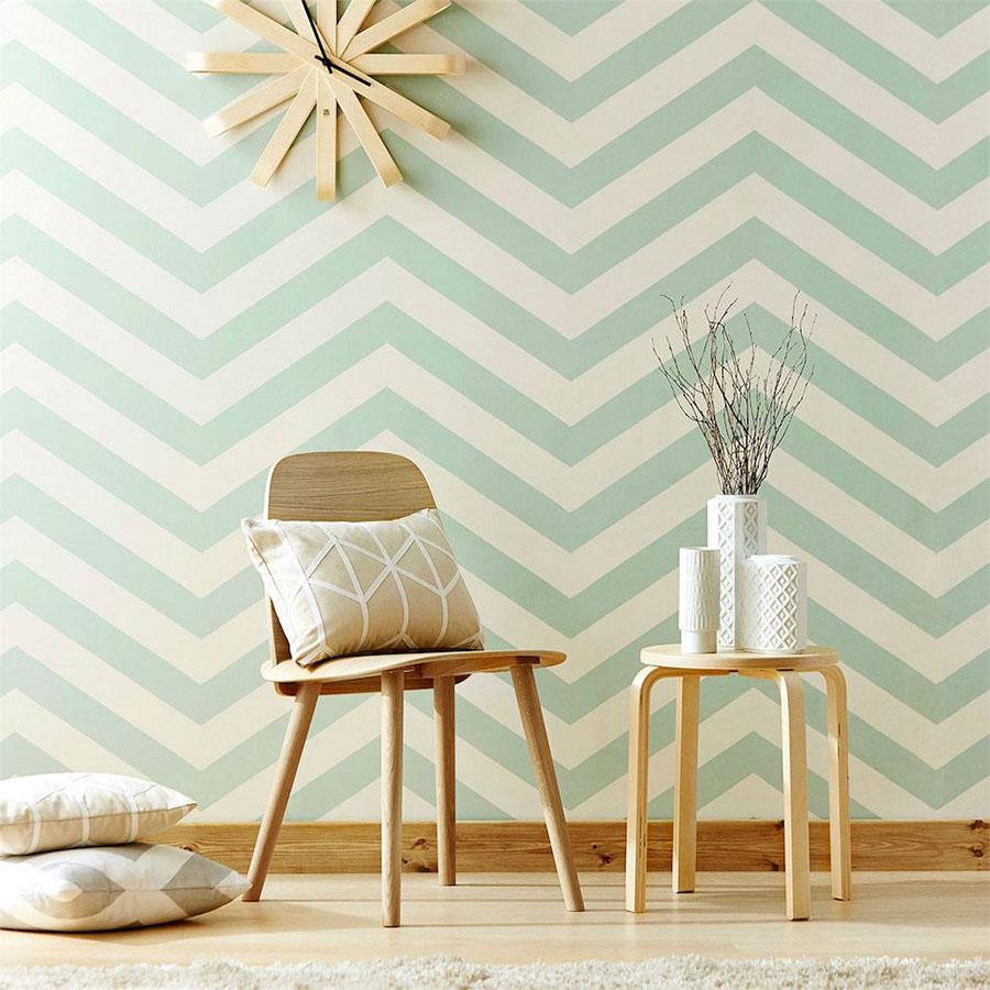 Blog De Moda Y Lifestyle Decorar Con Papel Pintado ~ Decorar Muebles Con Papel Pintado