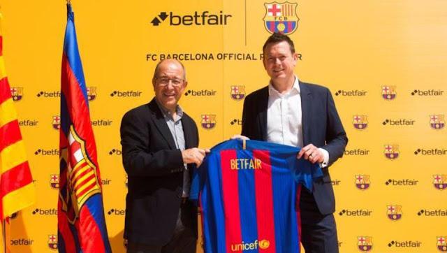El Barça recupera a Betfair, renueva con Qatar y prepara a Amazon