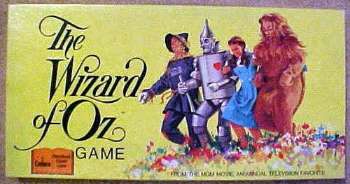 how to play the wizard of oz board game