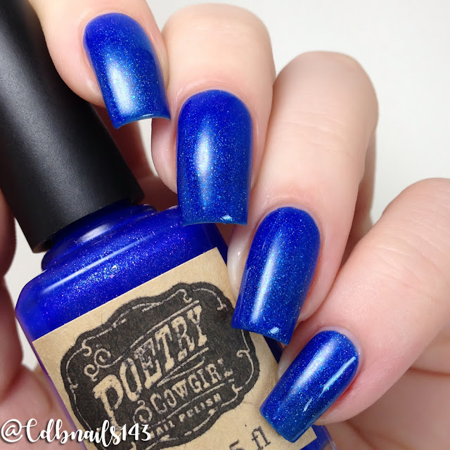 Poetry Cowgirl Nail Polish-Twilight's Last Gleaming