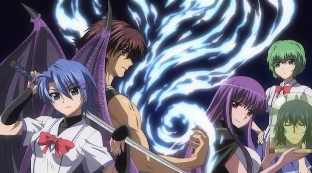 10 Anime Mirip Highschool Dxd [Rekomendasi Terbaik]