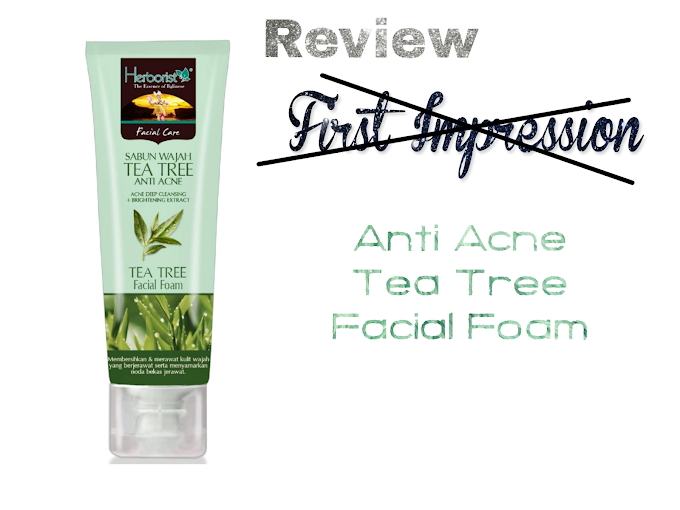 Review Herborist Facial Foam Tea Tree Anti Acne