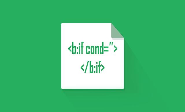 Beberapa Fungsi Tag Kondisional Pada Widget