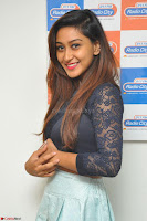 Shravya in skirt and tight top at Vana Villu Movie First Song launch at radio city 91.1 FM ~  Exclusive 172.JPG