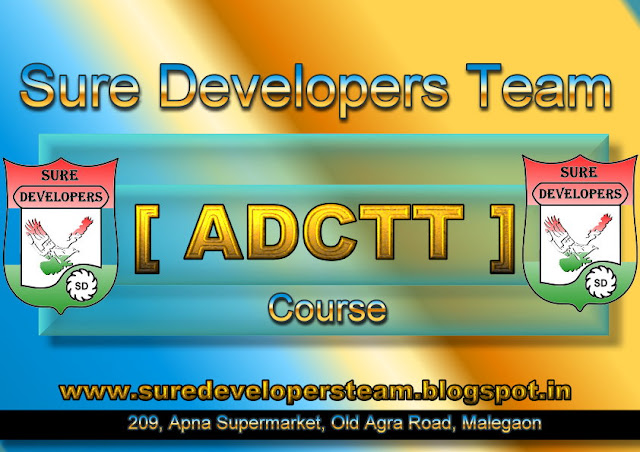 Advance Diploma in Computer Teacher Training [ADCTT]