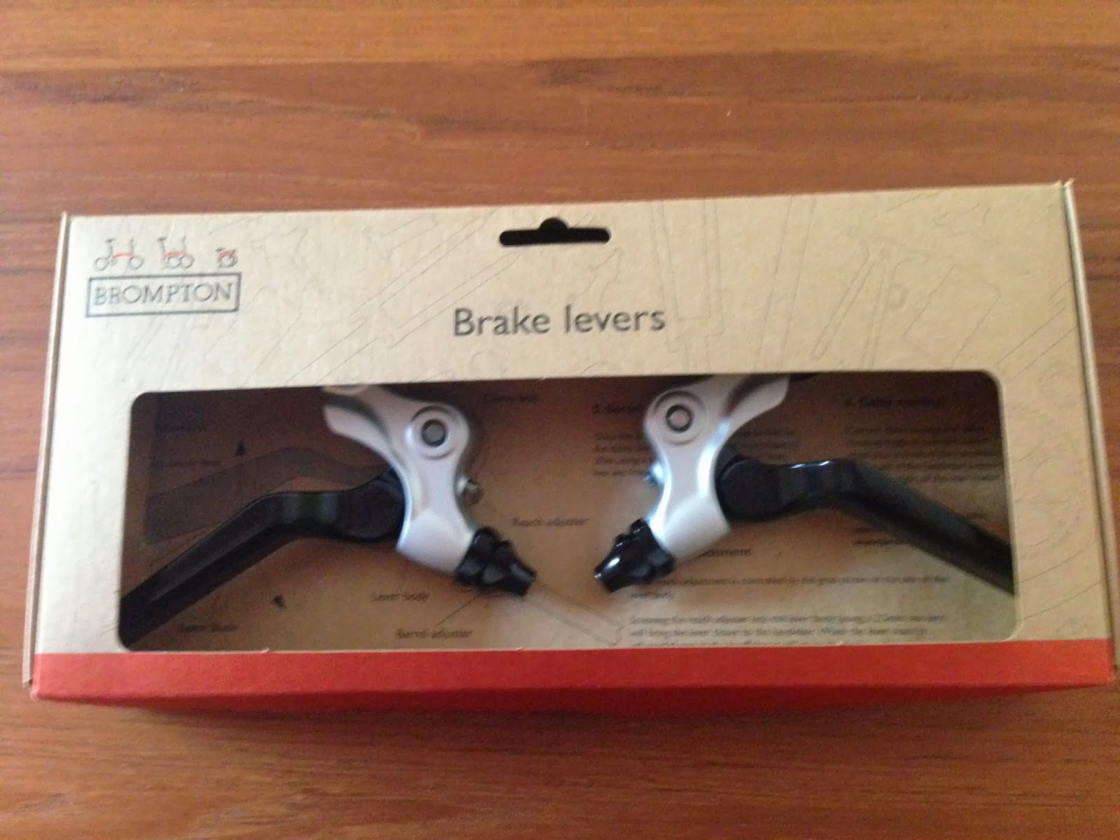 The Dirty Brompton Installation Of 2013 Brompton Brake Levers