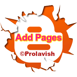 How to Add pages to A Blog |Blogger