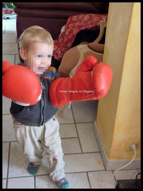 enfant gants boxe
